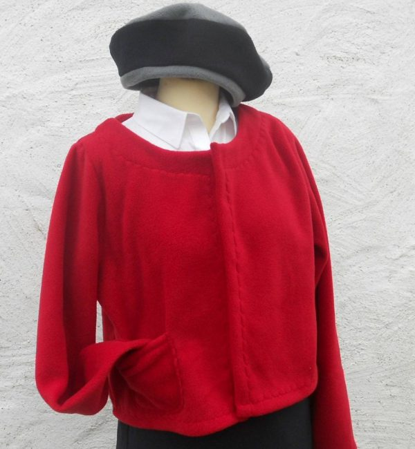 Ladies Fleece Bolero