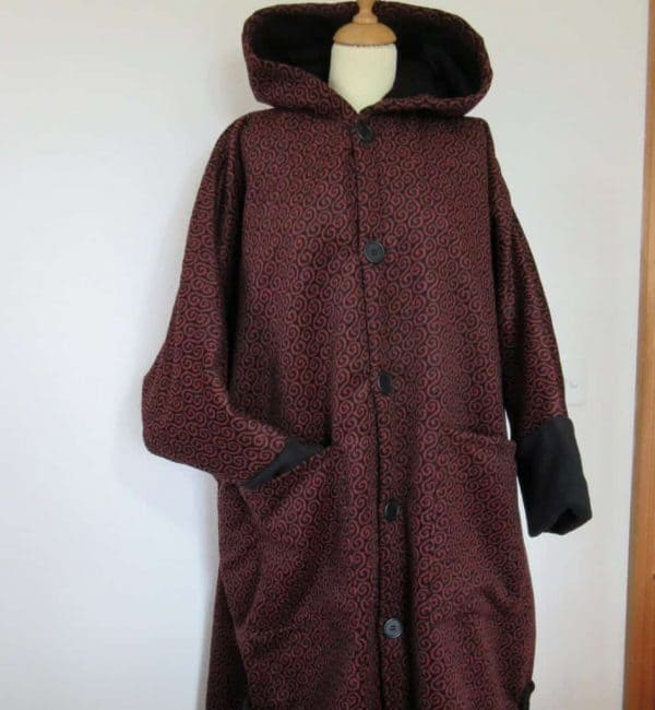 Long Fleece Poncho