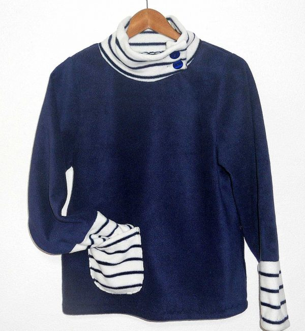 Ladies Poloneck Sweater