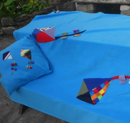 Fleece Blanket Kites