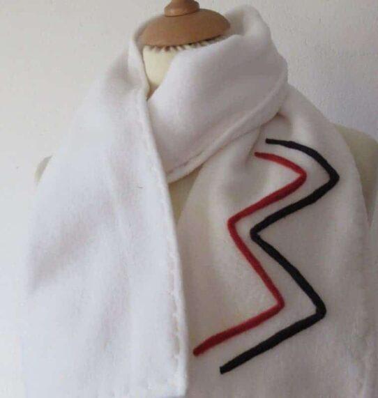 Fleece scarves