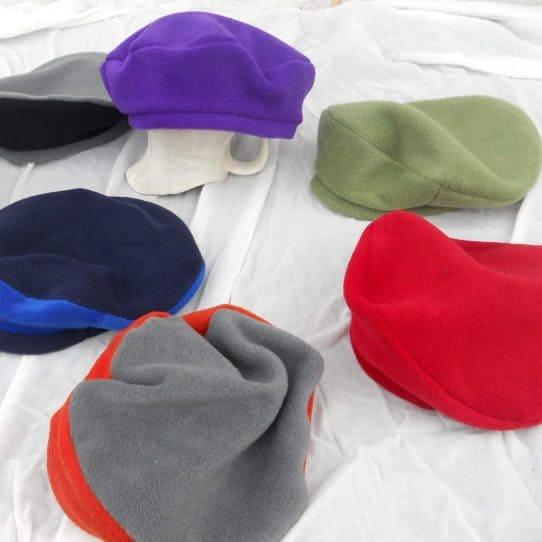 Fleece Beret Hat