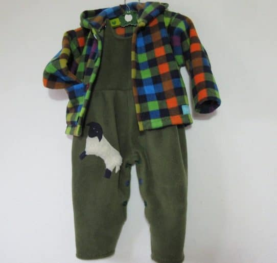 Kids Dungaree set