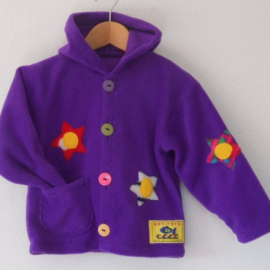 Girls Hooded Fleece Jacket