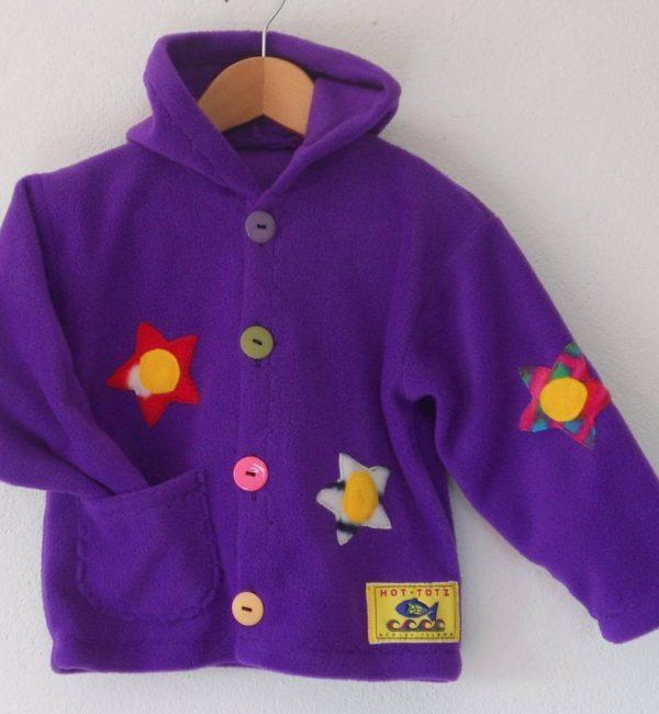 Girls Hooded Fleece Jacket