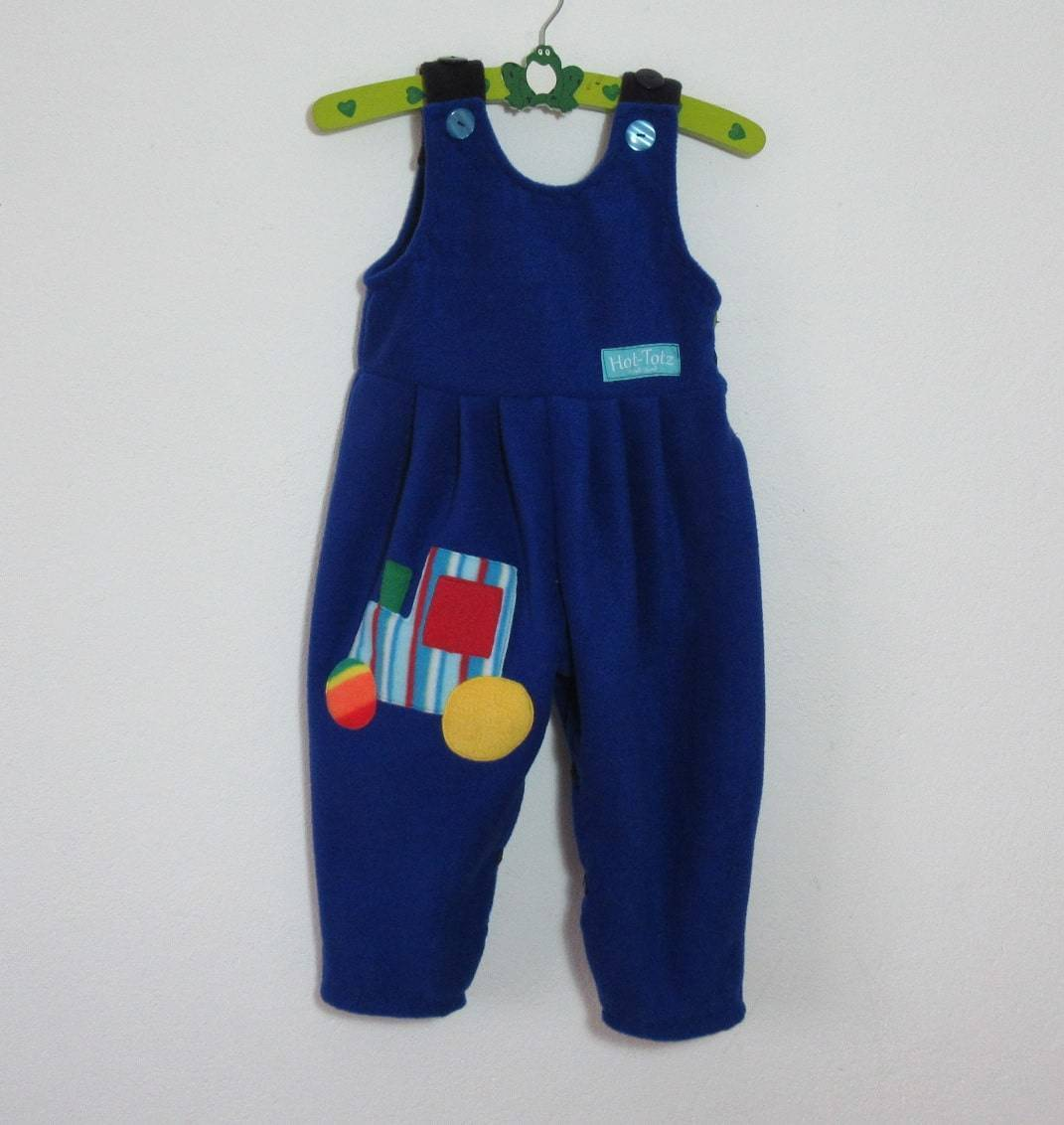 Childrens fleece Dungarees