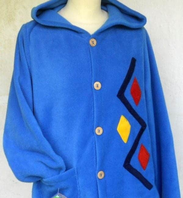 ladies Hooded fleece Jacket