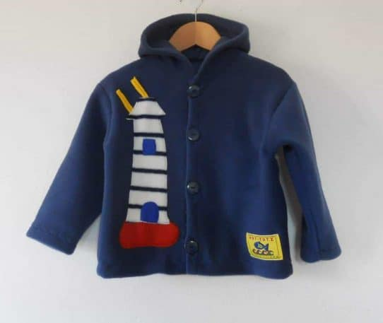 Hot-Totz Kids Fleece Jacket 'Lighthouse/Boat'