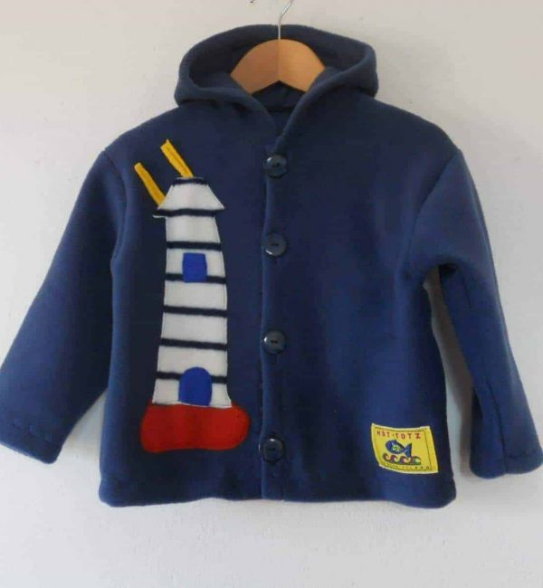 Hot-Totz Kids Fleece Jacket 'Lighthouse/Boat'