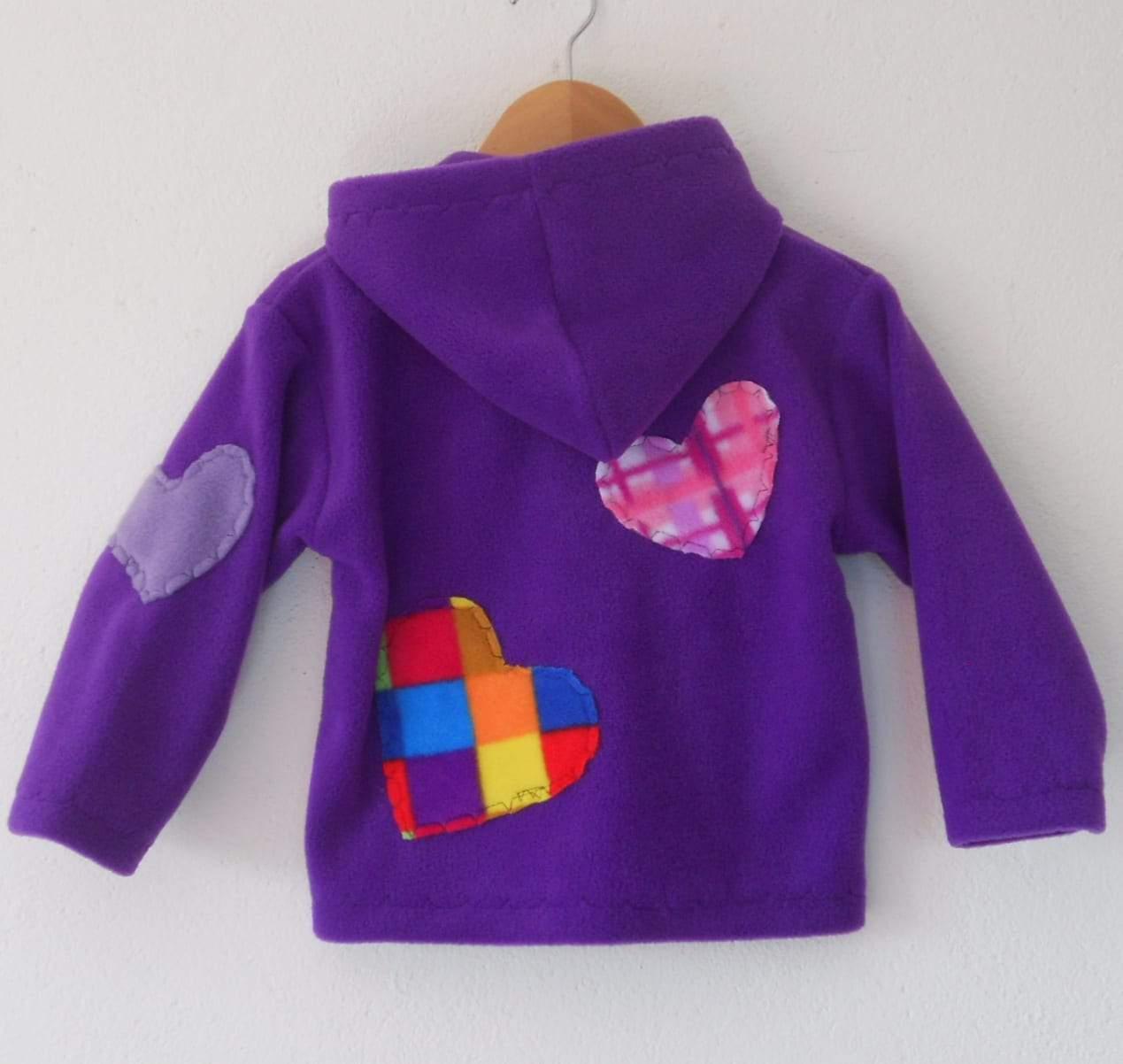 Handmade Childrens Fleece jacket