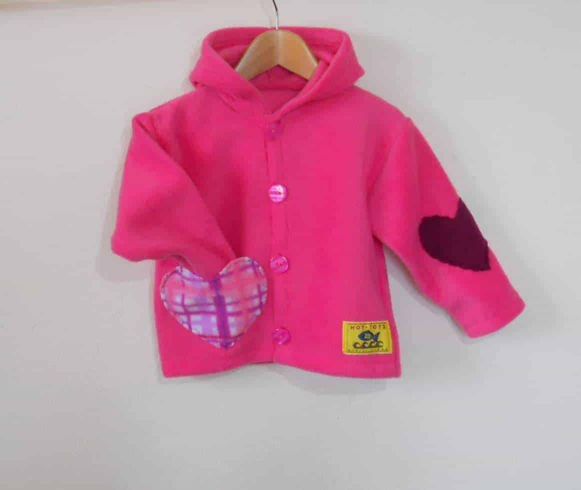 Baby Girl hooded fleece Jacket