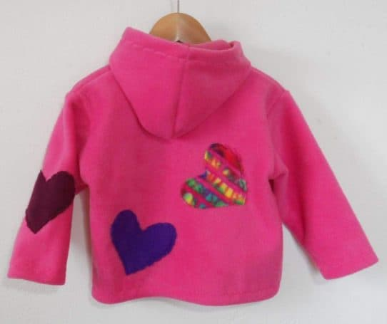 Kids Hooded Fleece Jacket