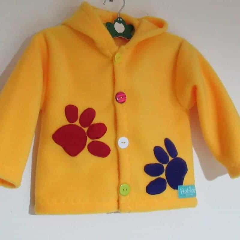 Hooded Childrens Jacket