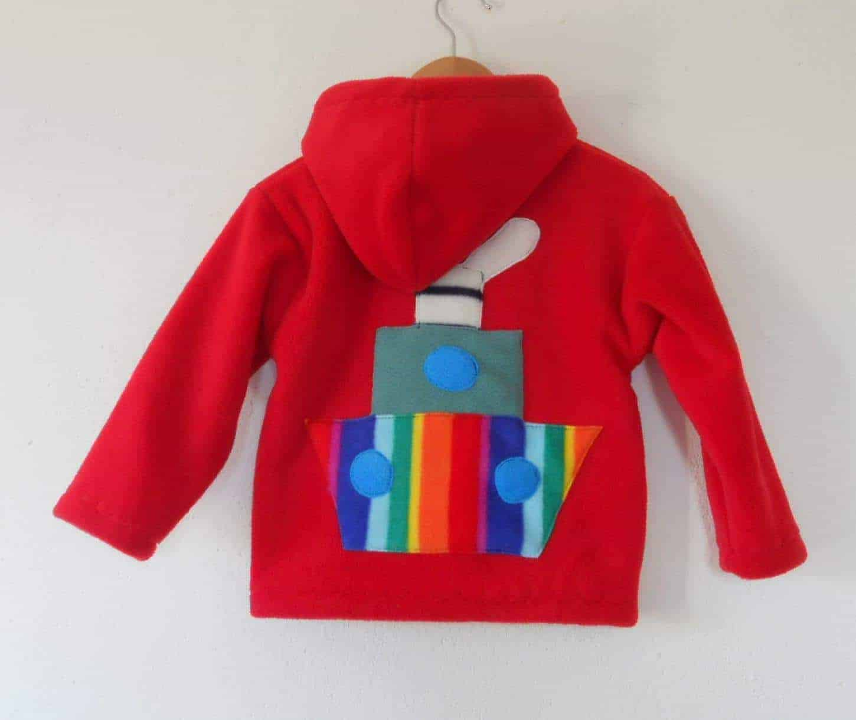 Kids Hooded Fleece Jacket