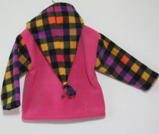 unique girls fleece jacket