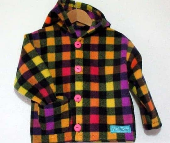 Unique kids fleece hoodie