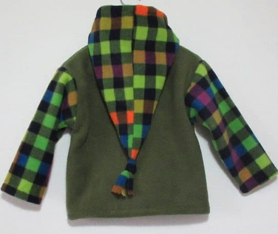 unique boys fleece jacket