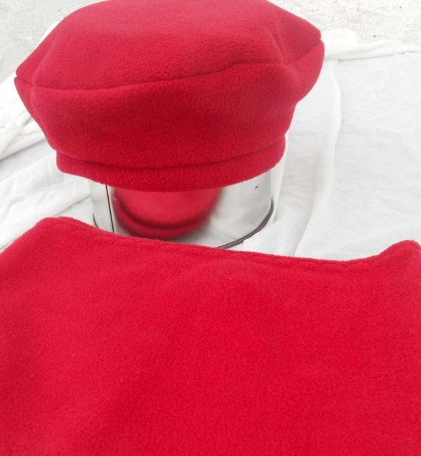 Fleece Hat and Scarf Set