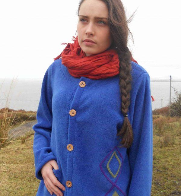 Ladies Fleece Jacket Aran