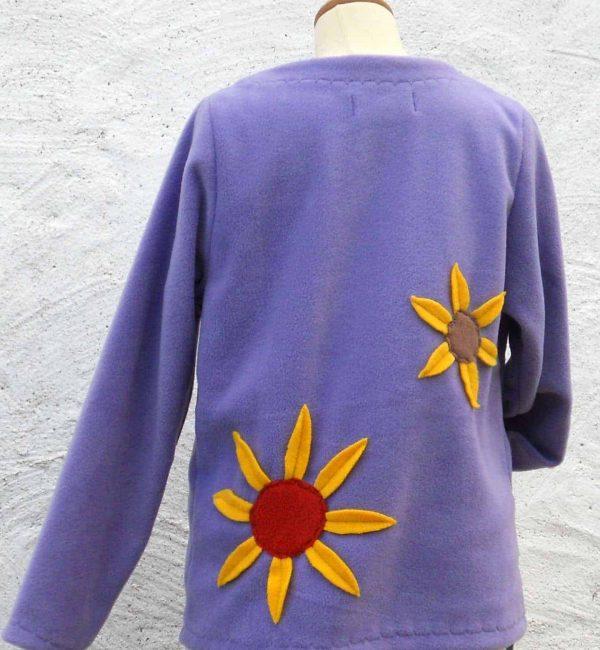 Ladies Sunflower Fleece Jacket