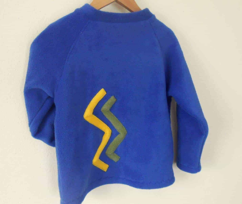 Hot Totz Fleece 'Aran' Round Neck Sweater
