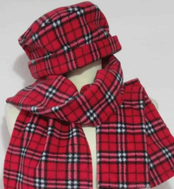 Fleece Hat and scarf