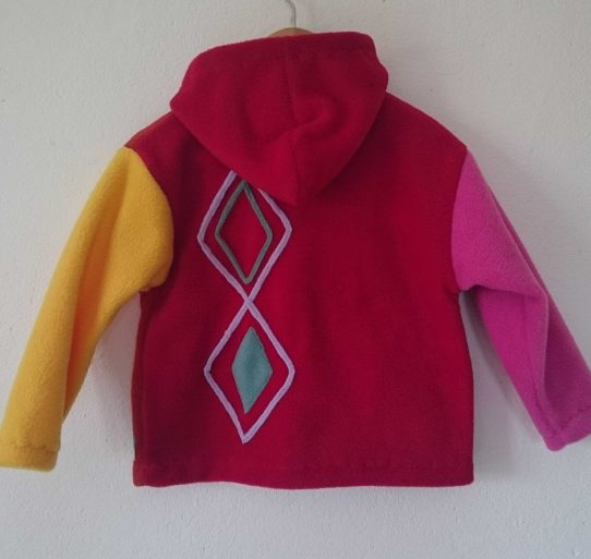 Aran fleece Multi jacket