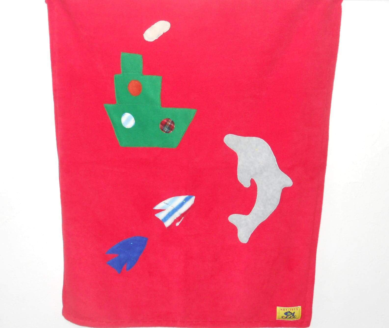 Hot-Totz Fleece Baby Blanket