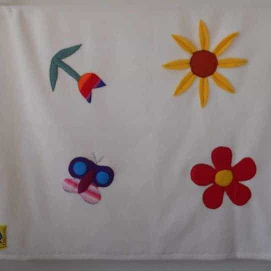 Baby Girl Blanket 'garden'