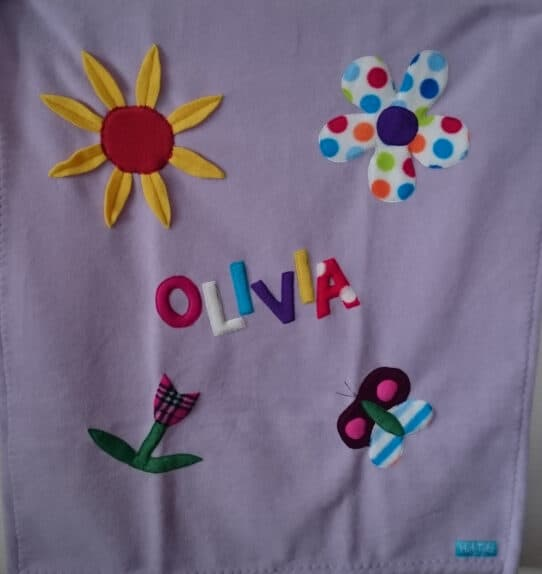 Unique Handmade Baby Blanket