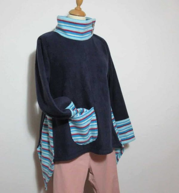 Ladies Fleece Pullover Swing