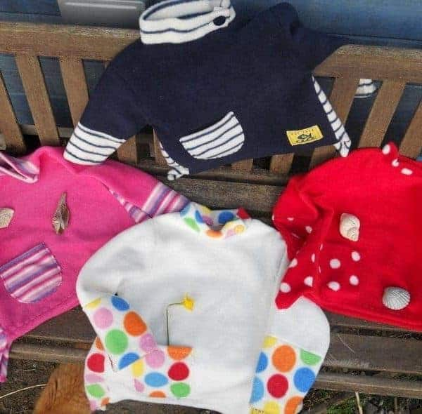 Girls Fleece Jumper