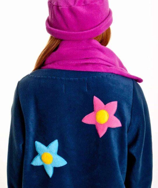Handmade Ladies Fleece Jacket
