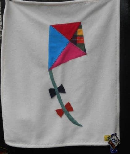 Fleece Baby Blanket Kite Cream