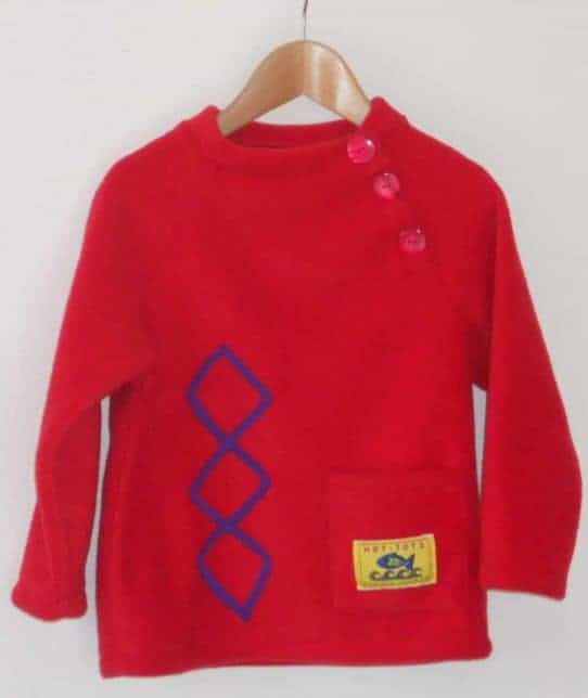 Hot Totz Fleece Aran Sweater