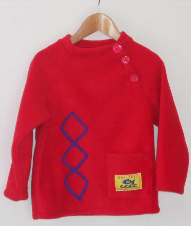 Hot Totz Fleece Aran Sweater
