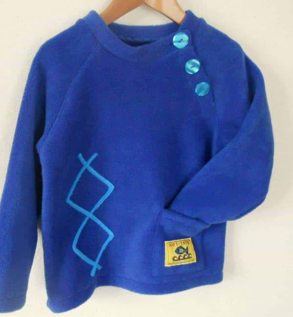 Kids Fleece Sweater'Aran'