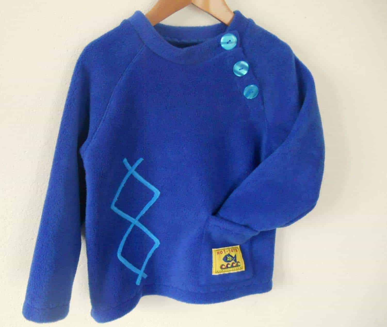 Kids Fleece Sweater'Aran'