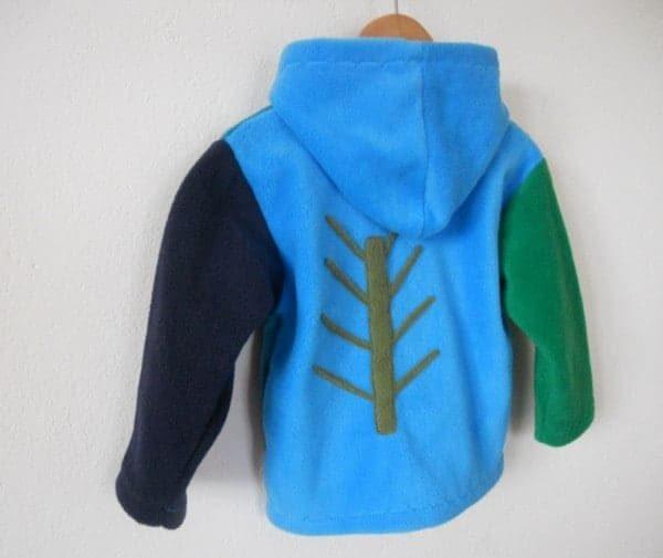 Aran Fleece Hooded Jacket