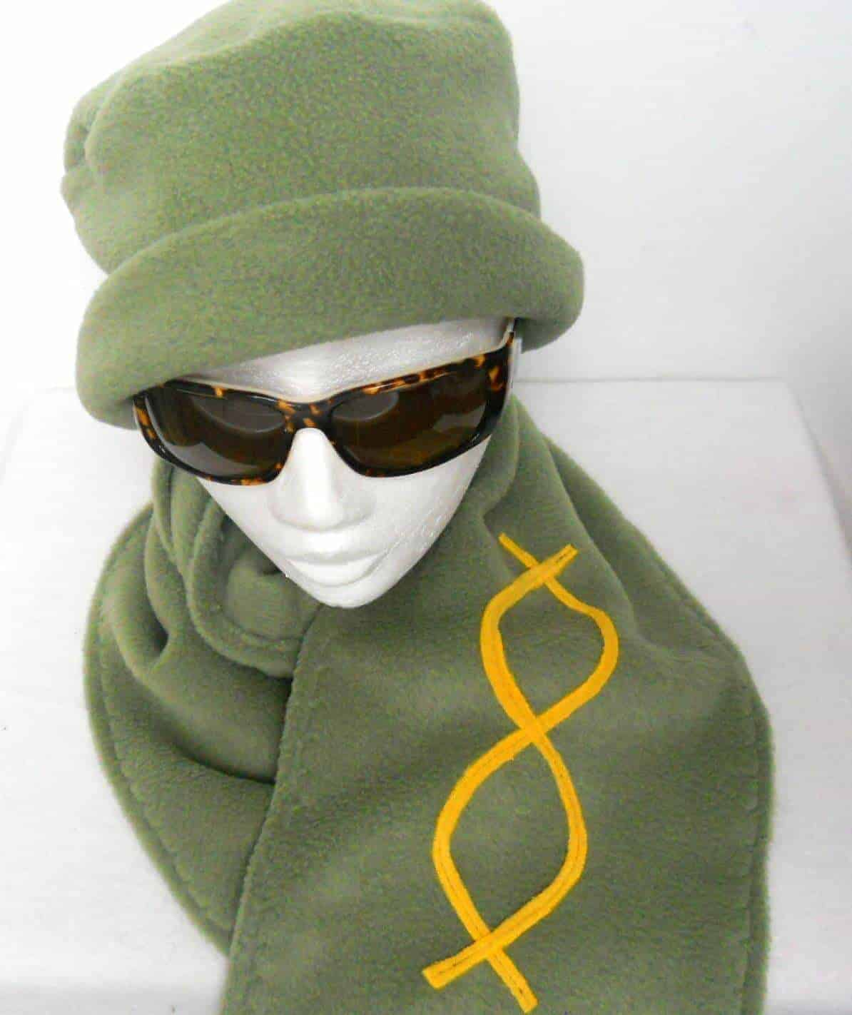 Fleece Hat&Scarf Set
