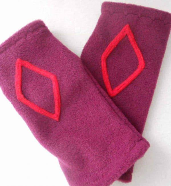 Fleece Wrist warmers