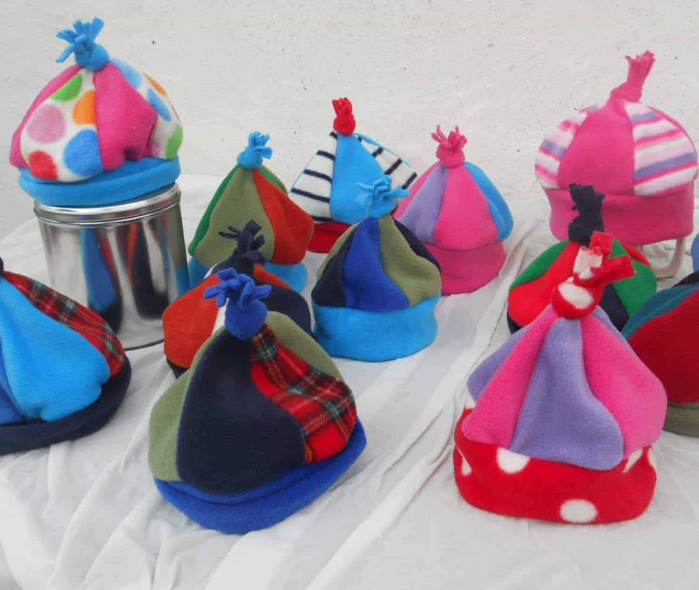 Kids Multi Fleece Hat