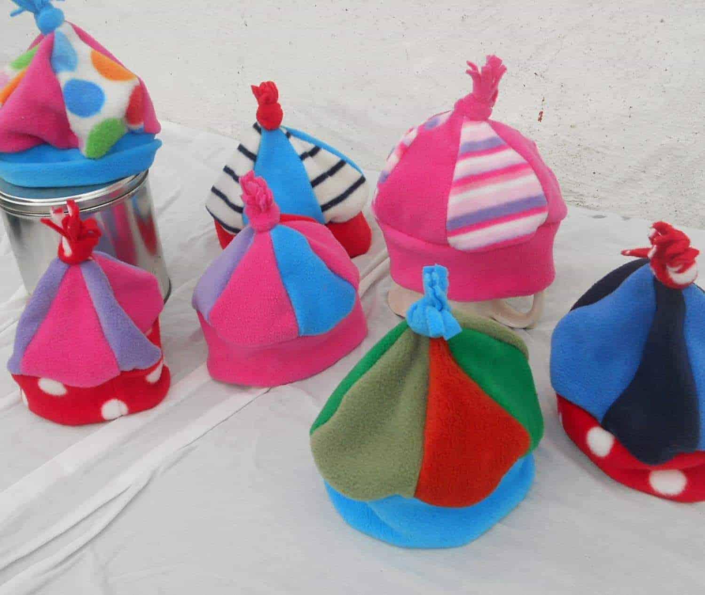 Hot-Totz Kids Multi Fleece Hat