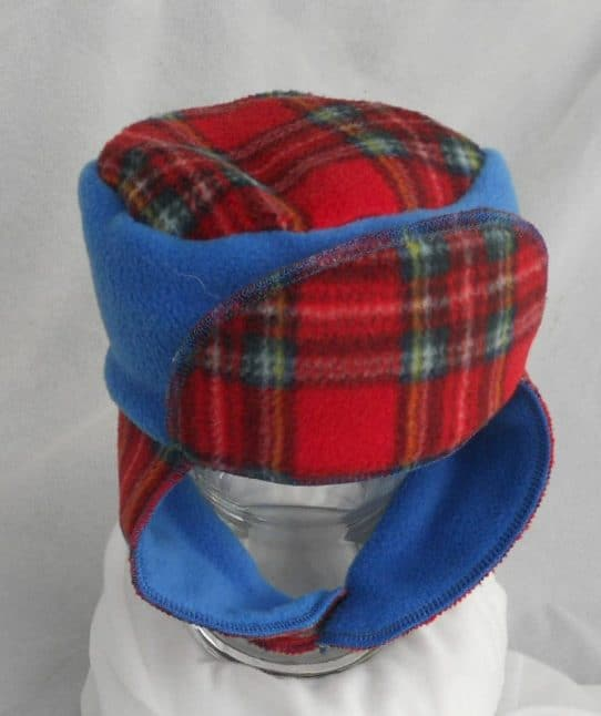 Childrens Fleece pilot hat