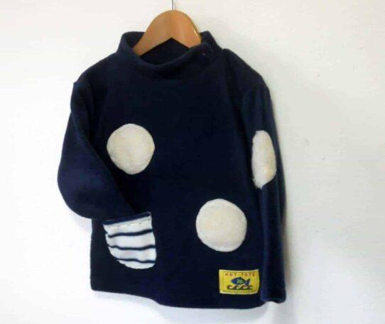 Handmade Childrens Fleece sweater