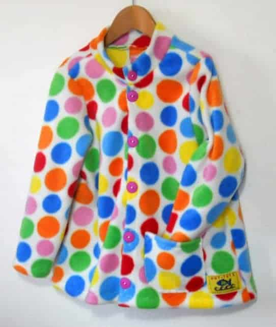 Girls Swing Fleece Jacket