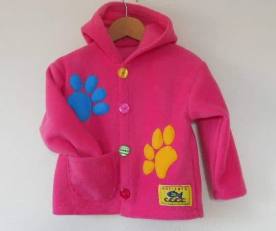 Handmade Kids Fleece jacket