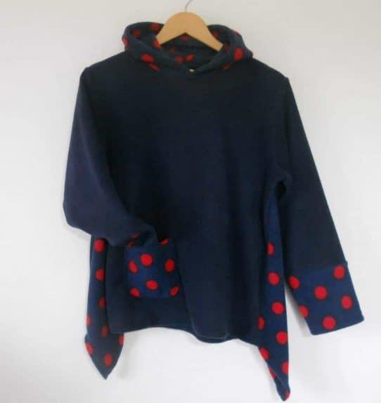 Girls Hooded Fleece Pullover