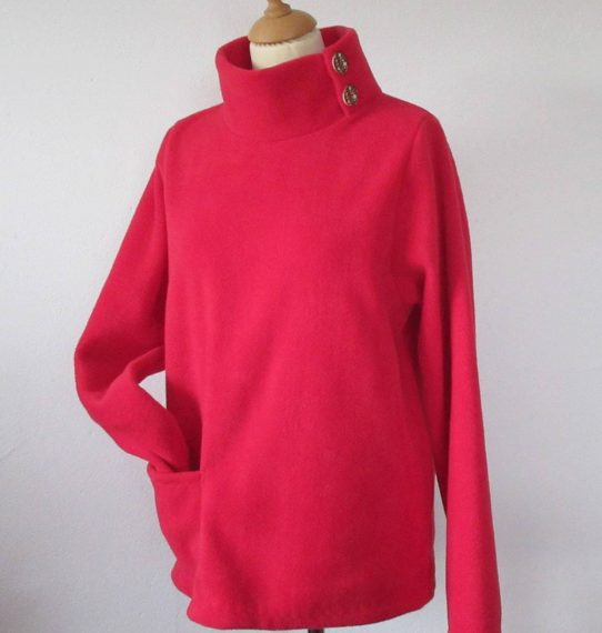 Womens Fleece Sweater