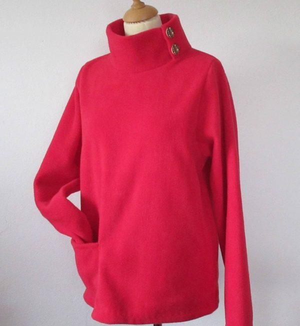 Womens Fleece Sweater